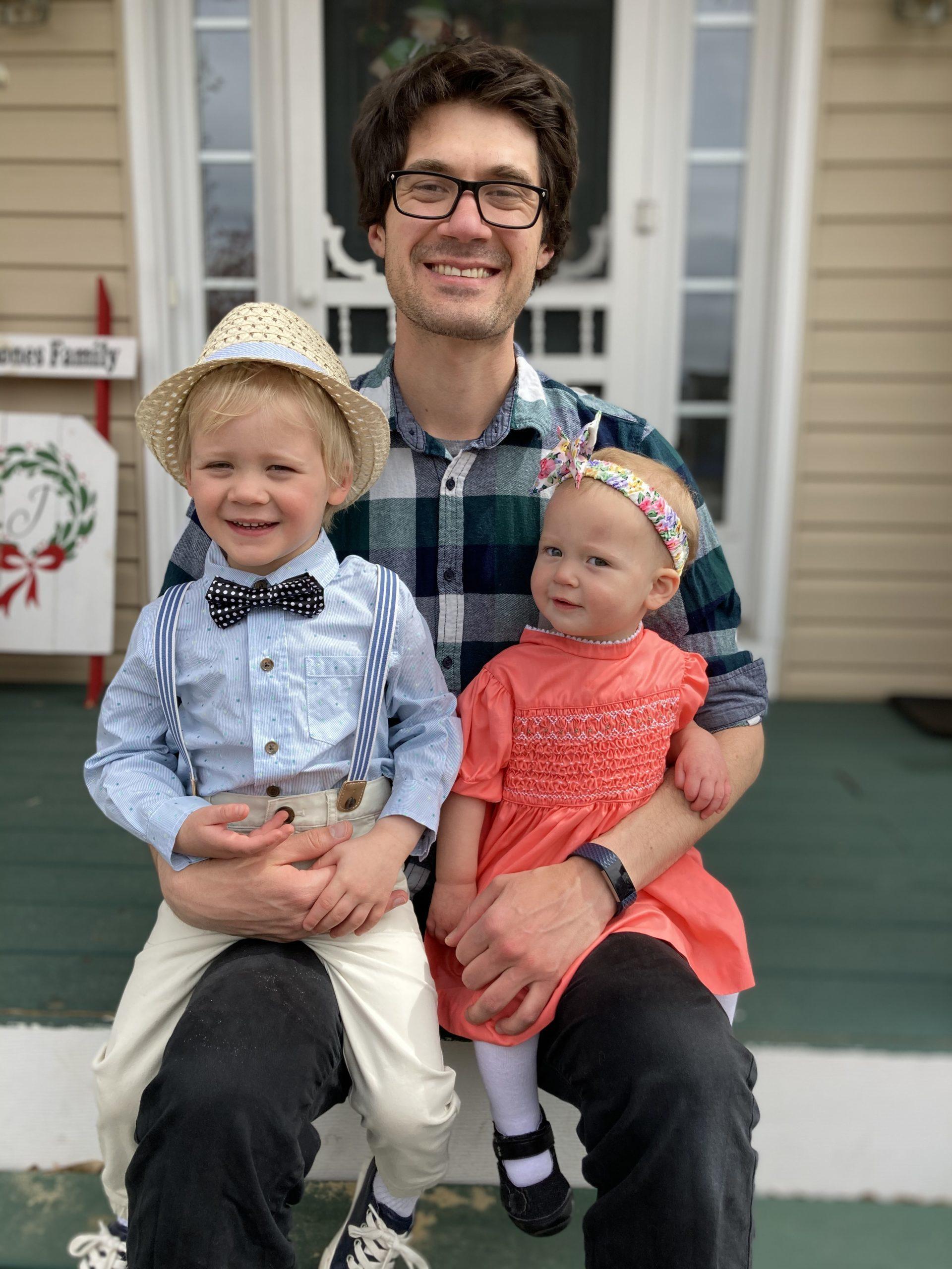Matt and his kids